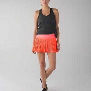 lululemon athletica Skirts - Lululemon pleat to street skirt shorts leg grip's